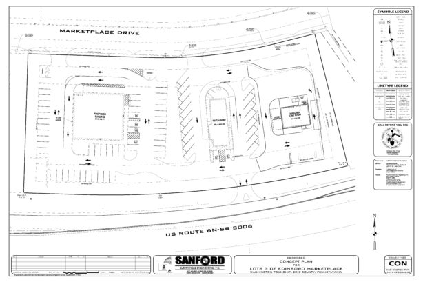 Edinboro Marketplace Concept Plan