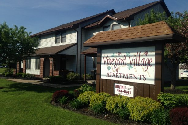 Vineyard Village Sign